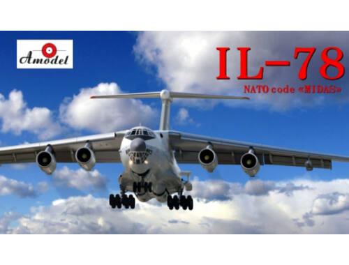 Amodel Ilyushin II-78 Inflight refuelling tanke 1:72 (72033)