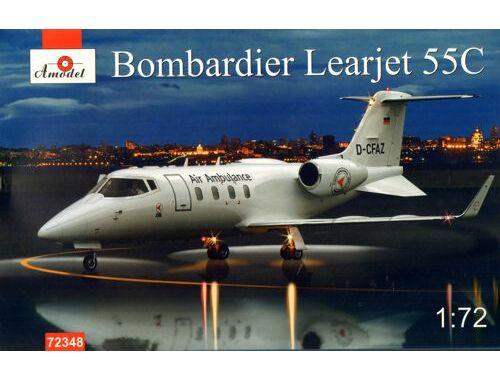 Amodel Bombardier Learjet 55C 1:72 (72348)