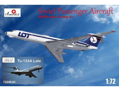 Amodel Tupolev Tu-134A, late LOT/Aeroflot 1:72 (72249-01)
