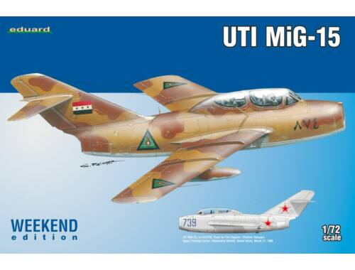 Eduard UTI MiG-15 WEEKEND edition 1:72 (7433)