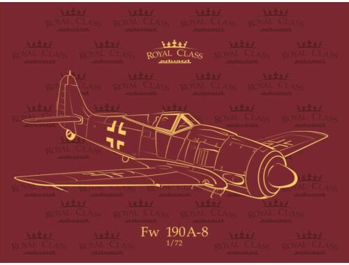 Eduard Fw 190A-8 ROYAL Class 1:72 (R0012)