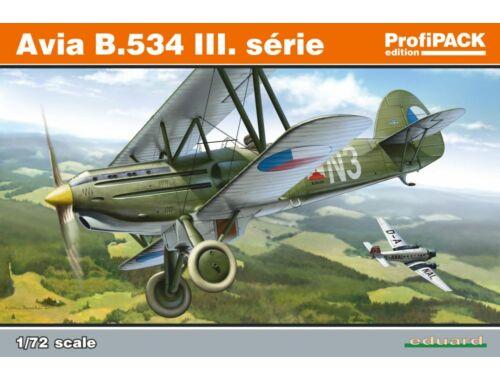 Eduard Avia B.534 III. série ProfiPACK 1:72 (70101)