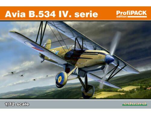 Eduard Avia B.534 IV.série ProfiPACK 1:72 (70102)
