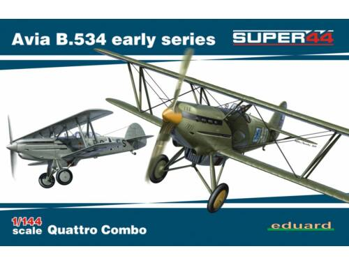 Eduard Avia B.534 early series QUATTRO COMBO SUPER44 1:144 (4451)