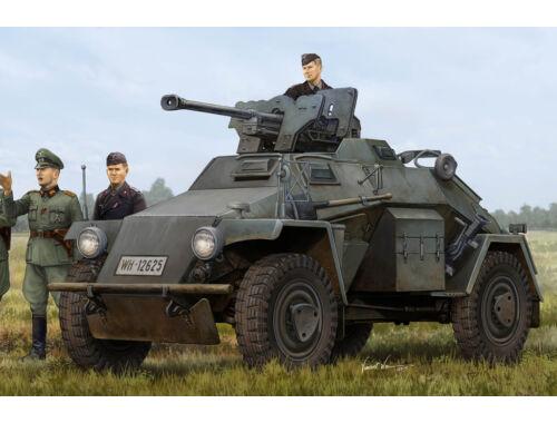 Hobby Boss German Le.Pz.Sp.Wg (Sd.Kfz.221) Leichter Panzerspahwagen-Late 1:35 (83814)