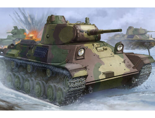 Hobby Boss Finnish T-50 Tank 1:35 (83828)