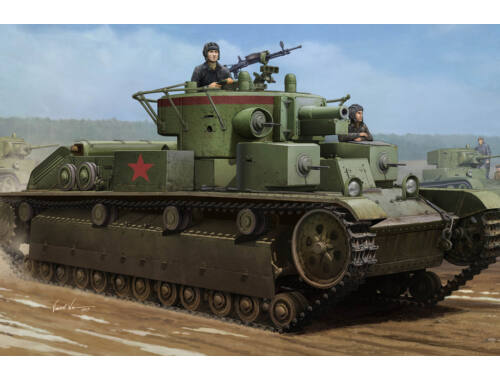 Hobby Boss Soviet T-28 Medium Tank (Welded) 1:35 (83852)