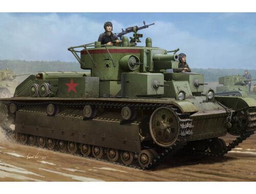 Hobby Boss Soviet T-28 Medium Tank (Welded) 1:35 (83852)