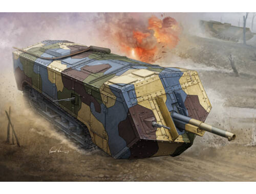 Hobby Boss French Saint-Chamond Heavy Tank-Medium 1:35 (83859)