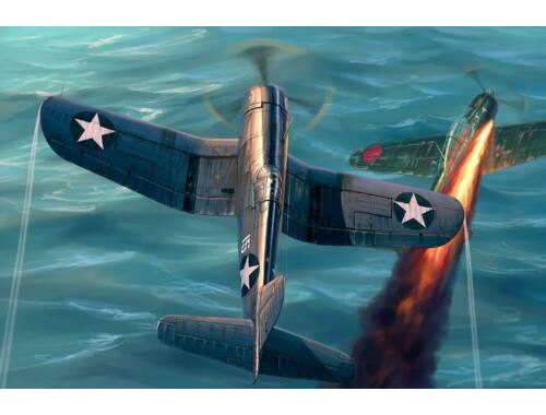 Hobby Boss F4U-1 Corsair Late version 1:48 (80382)