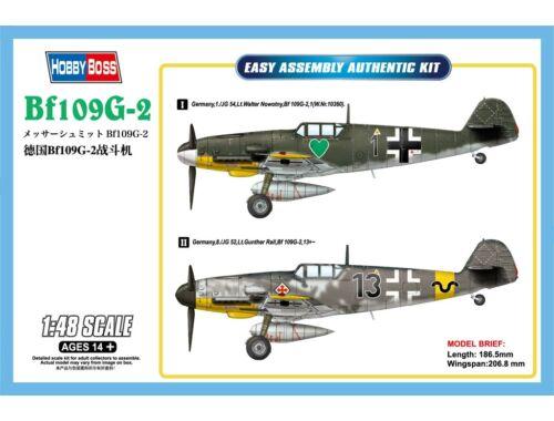 Hobby Boss Bf109G-2 1:48 (81750)