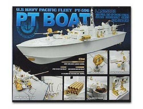 Lion Roar U.S.Navy PT-Boat PT-596 HOT Resumed 1:35 (LAS35003)