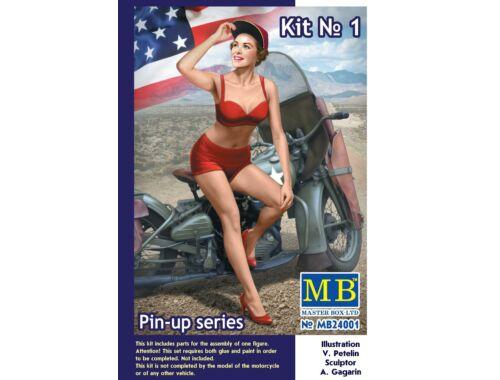 Master Box Pin-up series,Kit No.1 Marylin 1:24 (24001)