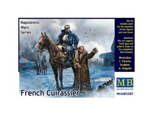 Master Box French Cuirassier,Napoleonic War Series 1:32 (3207)