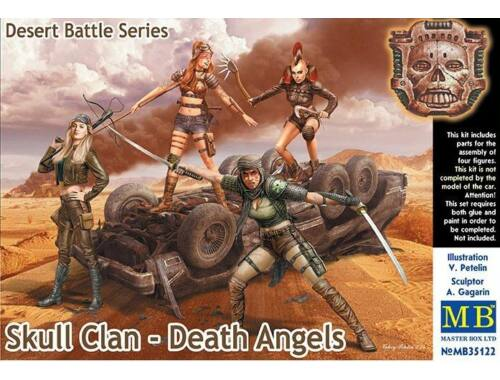 Master Box Skull Clan-Death Angels,Desert Battle Se 1:35 (35122)