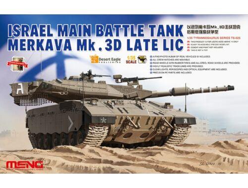 Meng Israel Main Battle Tank Merkava Mk.3D Late Lic 1:35 (TS-025)