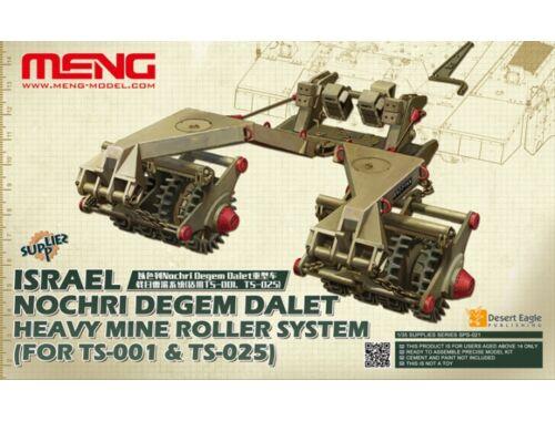 Meng Israel Nochri Degem Dalet Heavy Mine Rol ler System(for TS-001 TS-025) 1:35 (SPS-021)