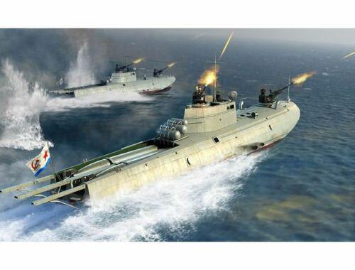 Merit Soviet Navy G-5 Class Motor Torpedo Boat 1:35 (63503)