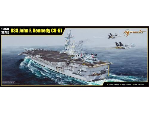 Merit USS John F.Kennedy CV-67 (kits) 1:350 (65306)