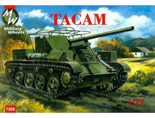 Military Wheels Tacam self-propelled gun 1:72 (7268)