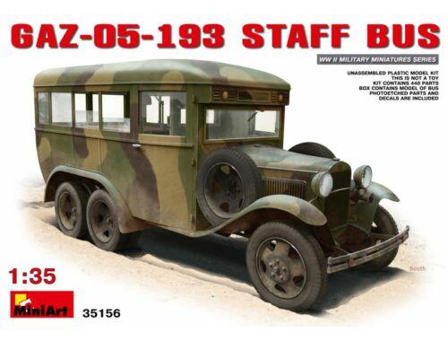 Miniart GAZ-05-193 Staff Bus 1:35 (35156)