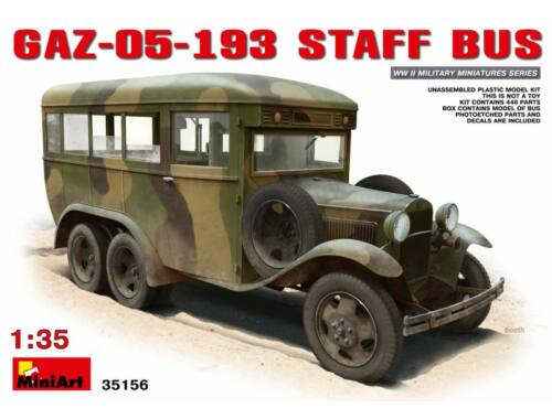 Miniart GAZ-05-193 Staff Bus 1:35 (35156)