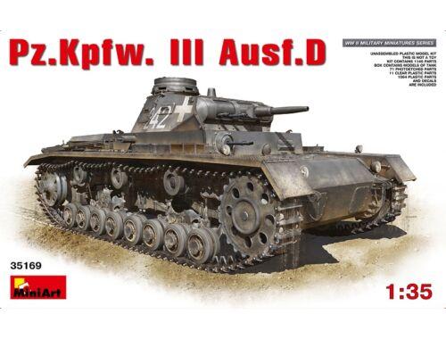 Miniart Pz.Kpfw.3 Ausf.D 1:35 (35169)