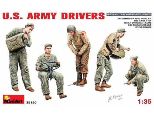 Miniart U.S. Army Drivers 1:35 (35180)