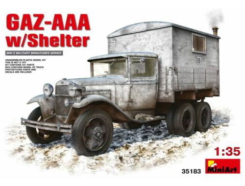 Miniart GAZ-AAA with Shelter 1:35 (35183)