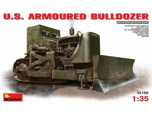 Miniart U.S. Armoured Buldozer 1:35 (35188)