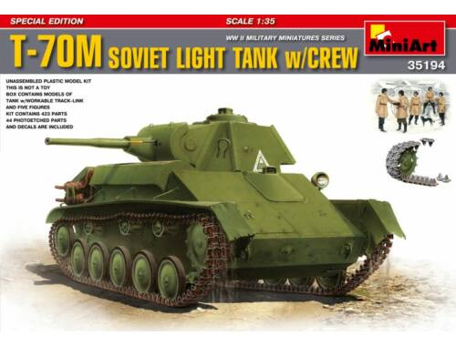 Miniart T-70M Special Edition 1:35 (35194)