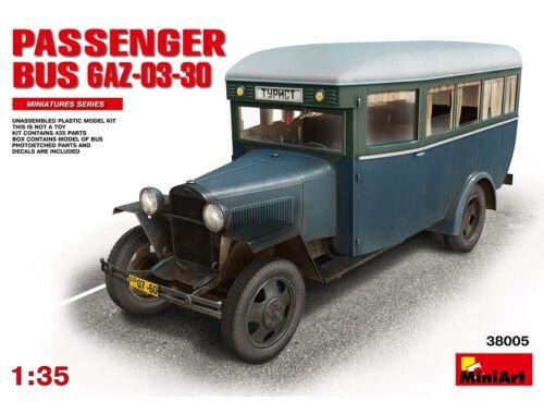 Miniart Passanger Bus GAZ-03-30 1:35 (38005)