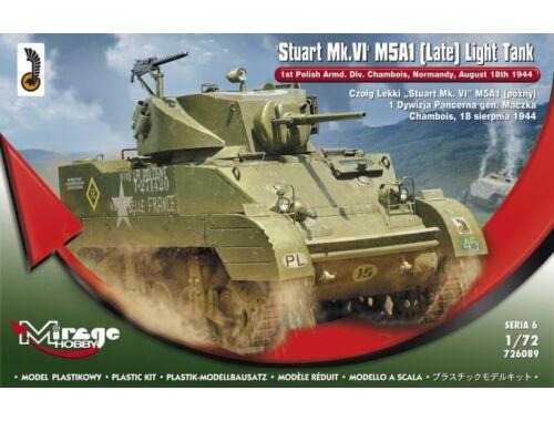 Mirage Hobby Stuart MK.VI M5A1 (Late) Light Tank 1:72 (726089)