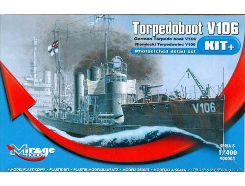 Mirage Hobby Torpedoboot V106 1:400 (900001)