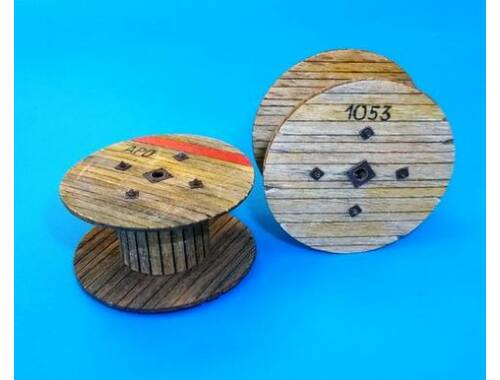 Plus Model Cable reels-small 1:35 (455)