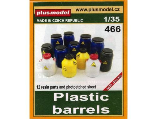 Plus Model Plastic barrels 1:35 (466)
