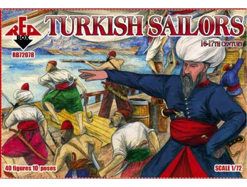 Red Box Turkisch sailor, 16-17th century 1:72 (72078)