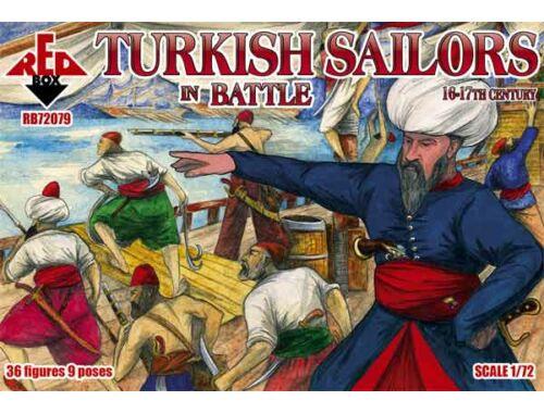 Red Box Turkish sailor in battle, 16-17th centur 1:72 (72079)