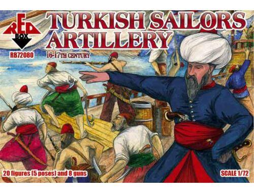 Red Box Turkish sailor artillery,16-17th century 1:72 (72080)