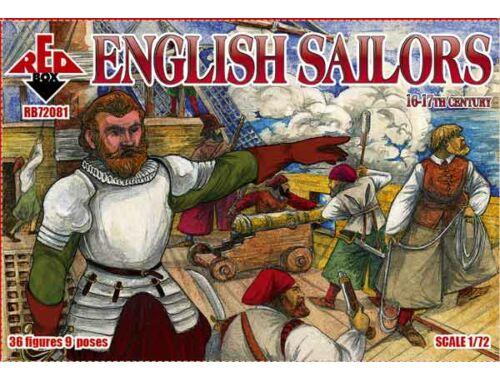Red Box English sailor,16-17th century 1:72 (72081)