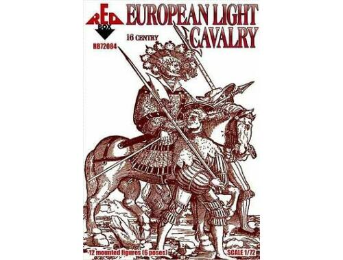 Red Box European cavalry,16th century,set 1 1:72 (72084)