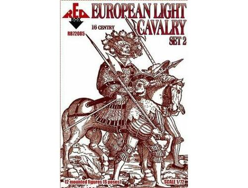 Red Box European light cavalry,16th century,set2 1:72 (72085)