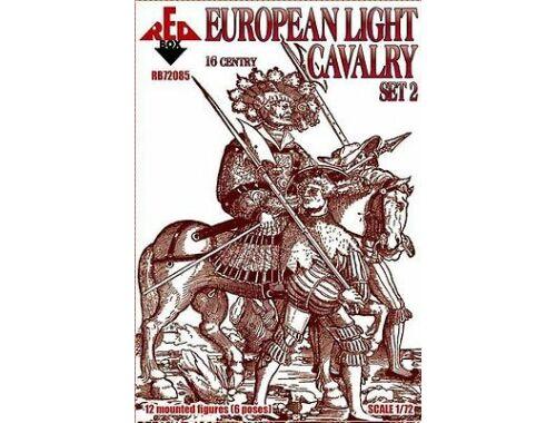 Red Box European light cavalry,16th century,set2 1:72 (72085)