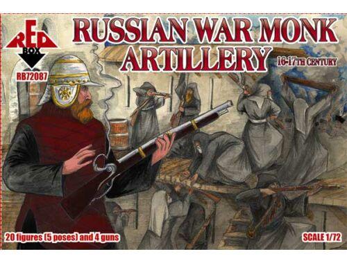 Red Box Russian war monk artillery,16-17th centu 1:72 (72087)