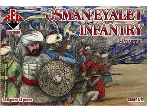 Red Box Osman Eyalet infantry,16-17th century 1:72 (72088)