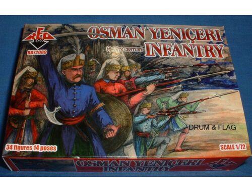 Red Box Osman Yeniceri inantry,16-17th century 1:72 (72089)