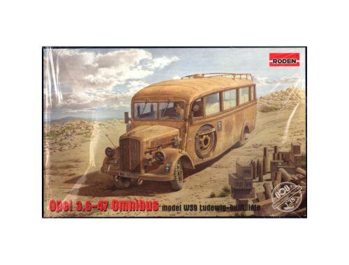 Roden Opel Blitz 3.6-47 Omnibus model W39 Lude Ludewig built, late 1:35 (808)