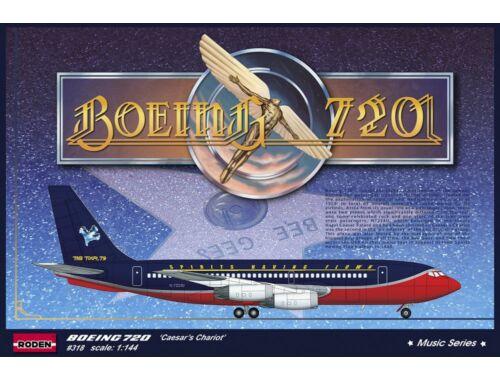 """Roden Boeing 720 """"Caesar's Chariot"""" 1:144 (318)"""