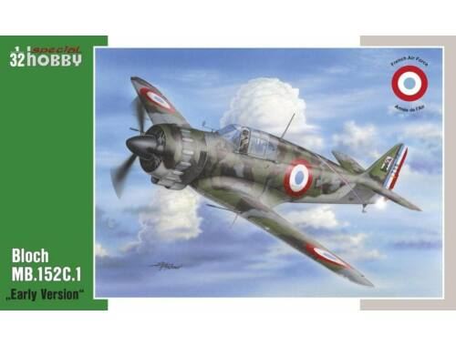 Special Hobby Bloch MB.152C1 Early Version 1:32 (32063)