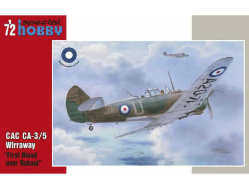 Special Hobby CAC CA-3/5 Wirraway First Blood over Rab 1:72 (72331)